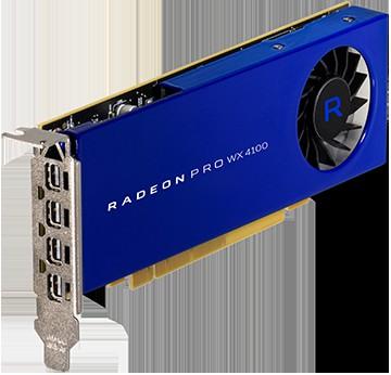 AMD Radeon Pro WX 4100