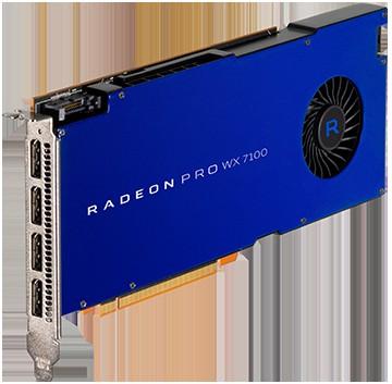 AMD Radeon Pro WX 7100