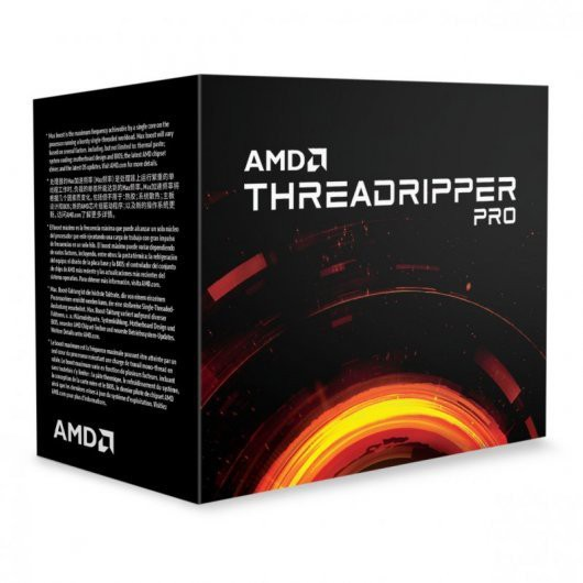 AMD Ryzen Threadripper Pro 3955WX Box