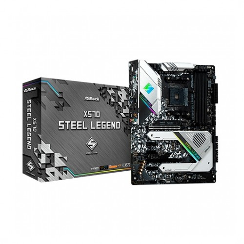 Foto Asrock X570 Steel Legend