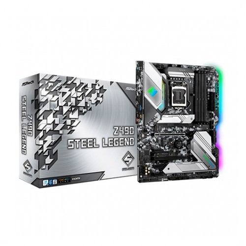 Foto Asrock Z490 Steel Legend