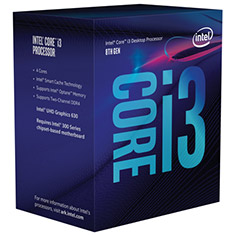 Intel Core i3-9100F Box