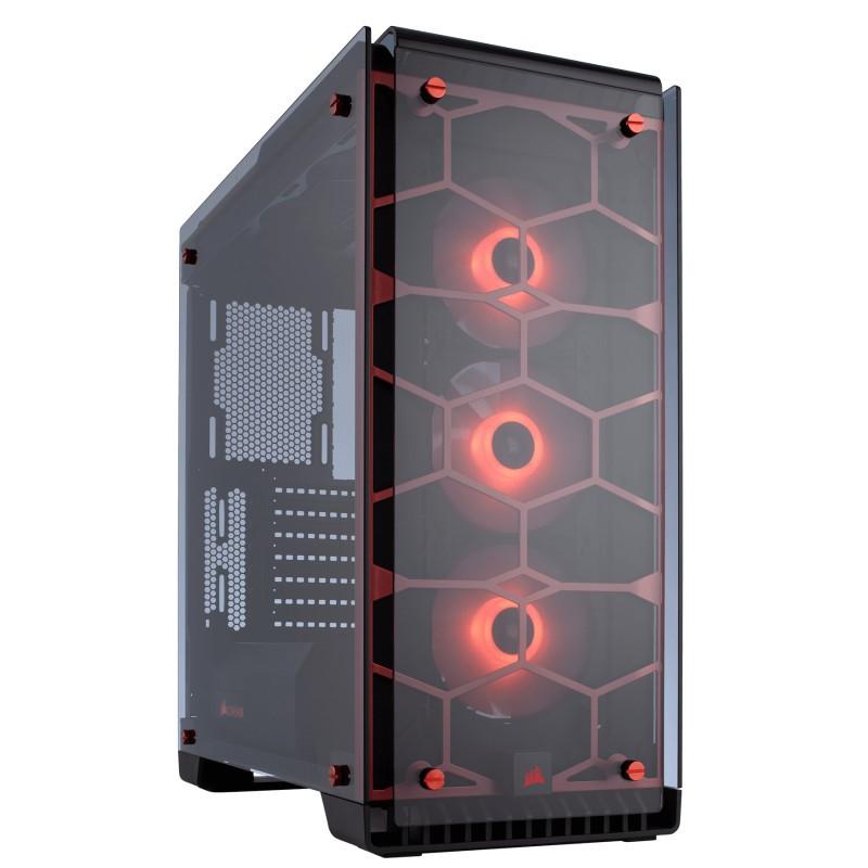 Corsair Crystal 570X RGB Roja