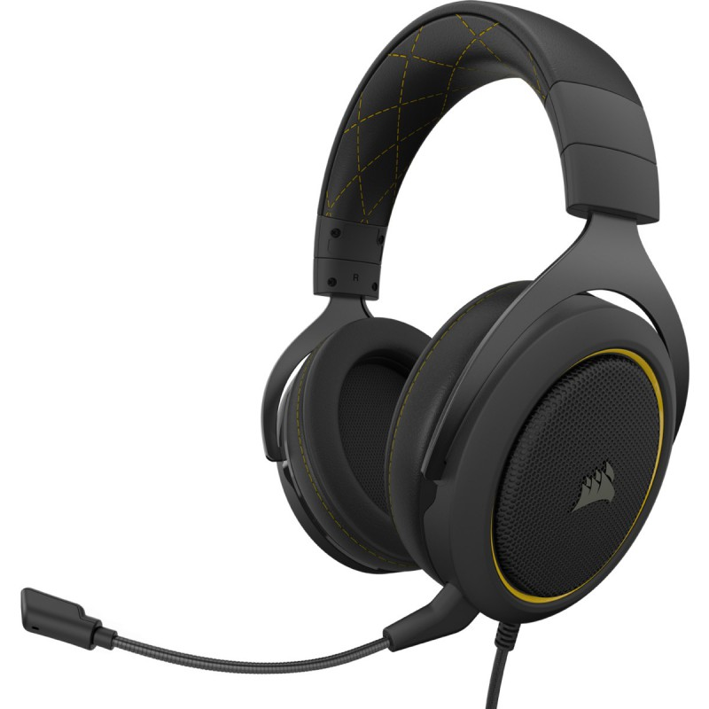 Corsair HS60 Pro Surround Amarillo