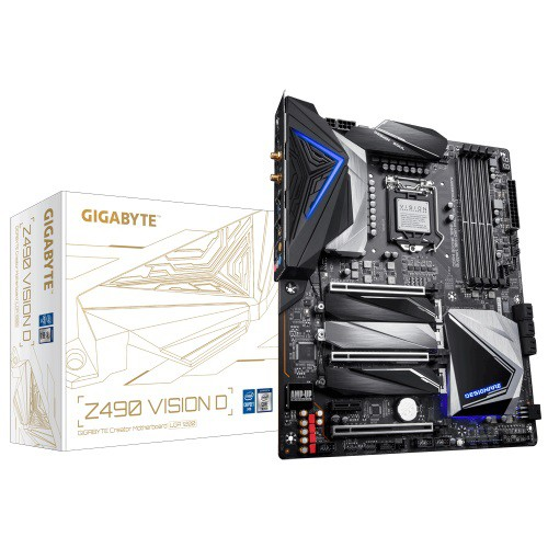 Gigabyte Z490 Vision D