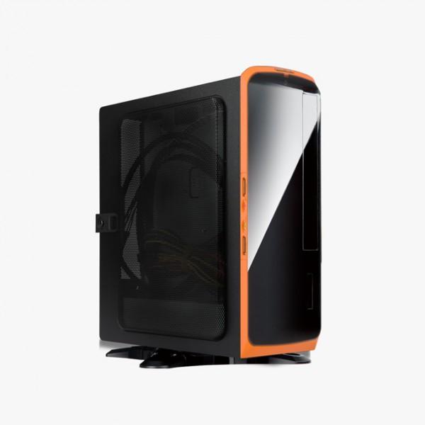 IN WIN BQ660 120W Negra-Naranja