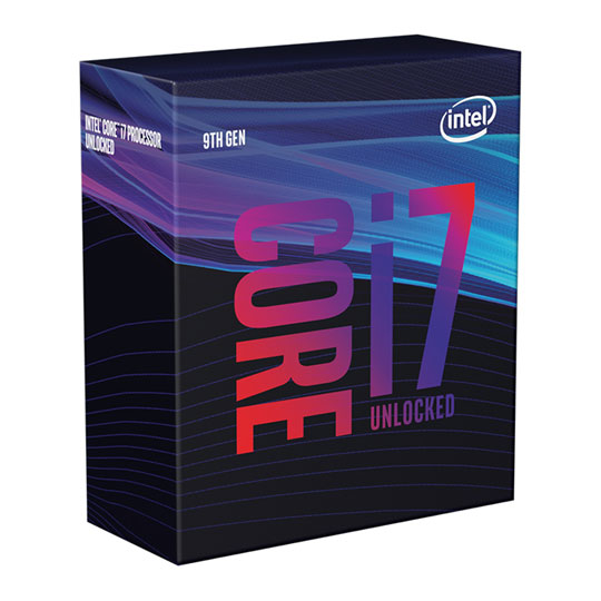 Intel Core i7-9700K Box