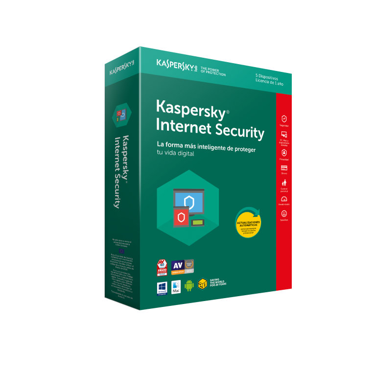 Kaspersky Internet Security 2013 1usuario/1año