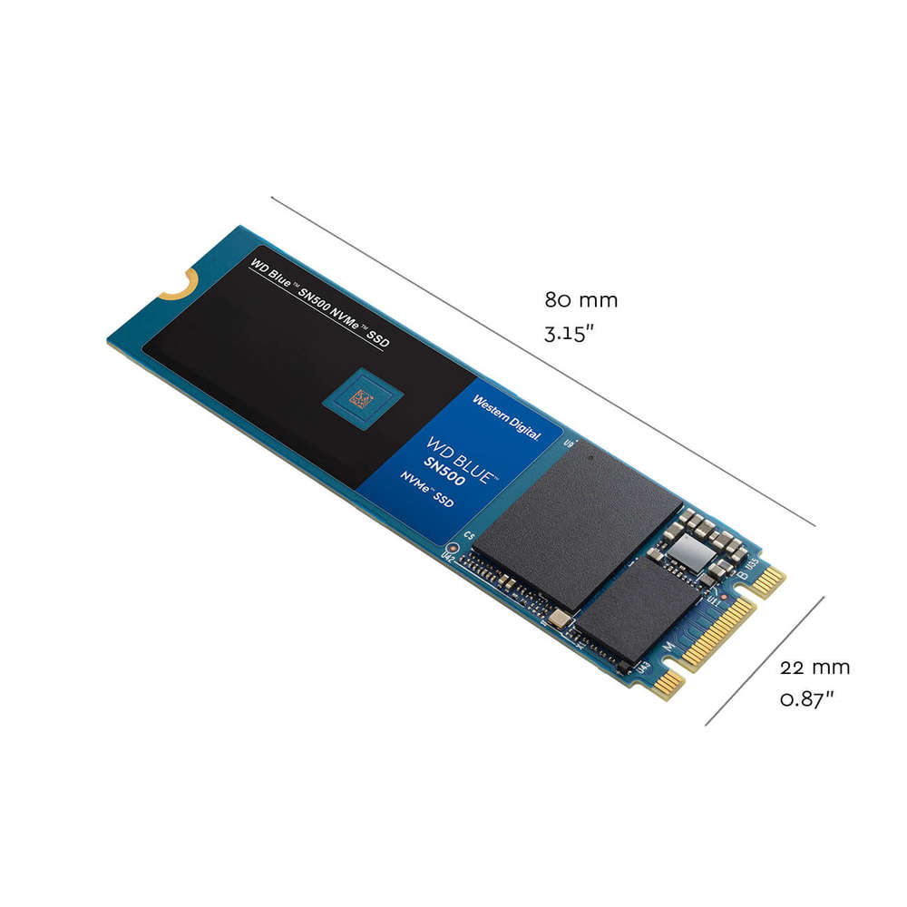 WD Blue SN500 NVMe 500GB