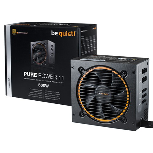 Foto be quiet! Pure Power 11 500W CM