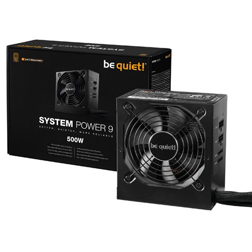 Foto be quiet! System Power 9 500W CM