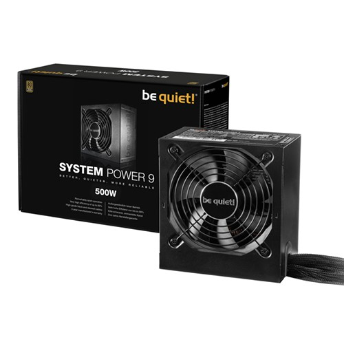 Foto be quiet! System Power 9 500W