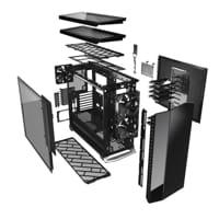 Foto Fractal Design Vector RS Dark Tempered Glass