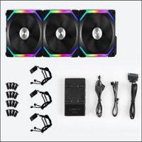 Foto Lian Li SL120 Uni Fan Pack Negro
